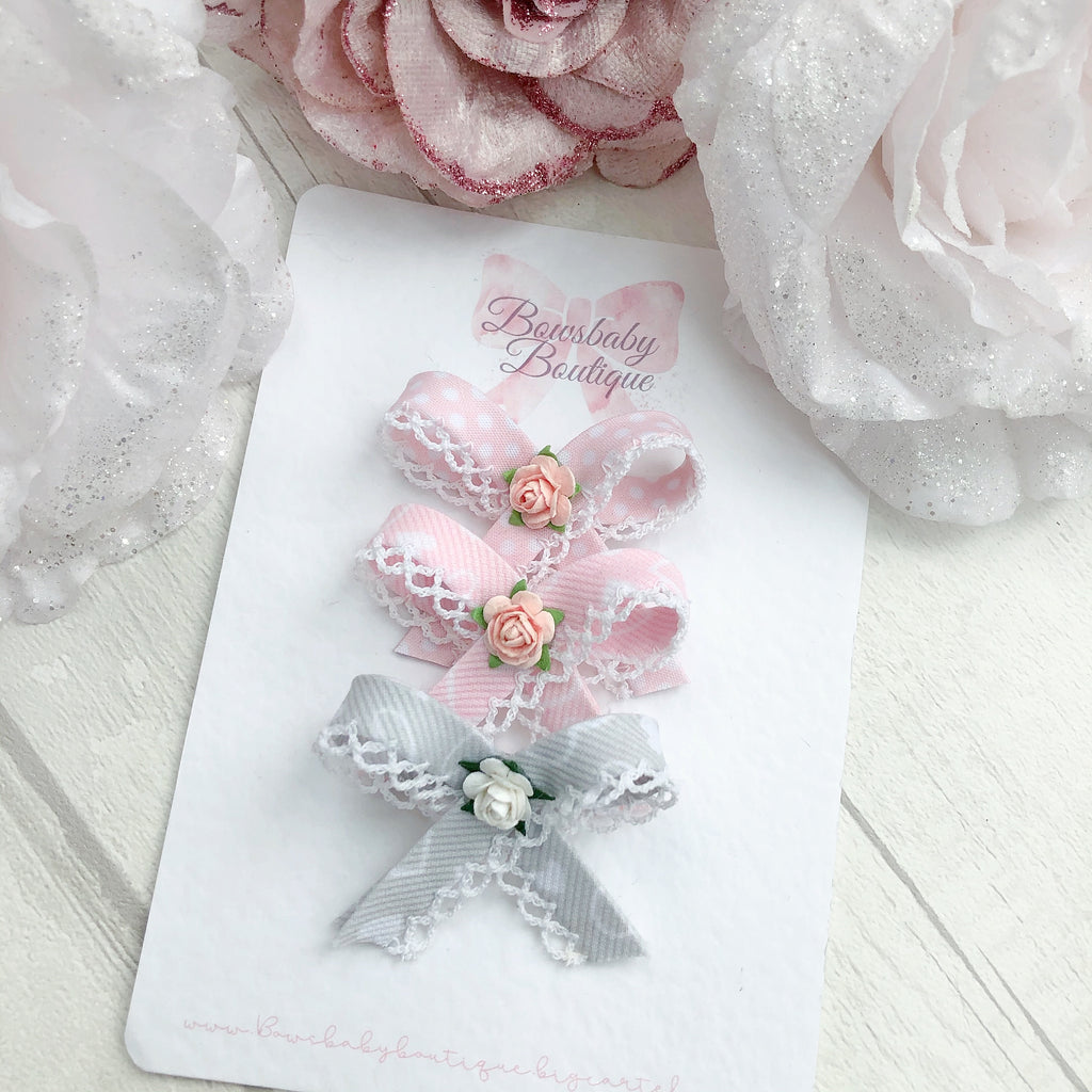 Newborn trim bows