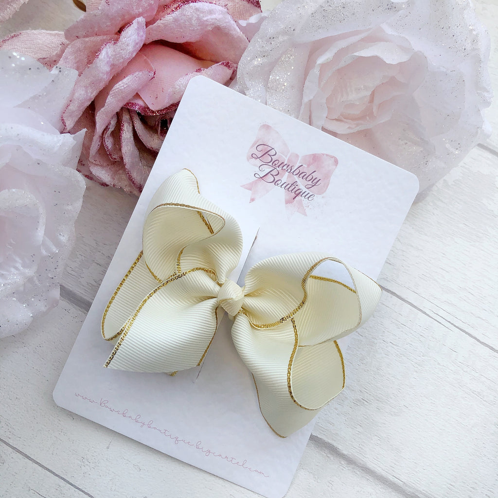 WEDDING COLLECTION - Ivory Boutique Bow