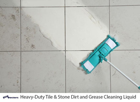 Maintain Grip Before & After Tile & Stone Cleaner