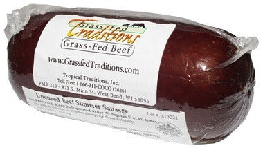 Grass-fed Beef Summer Sausage photo