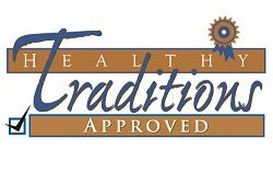 Healthy Traditions Approved Logo image