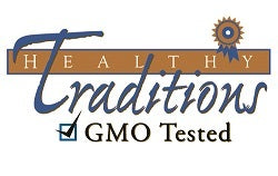 Healthy Traditions GMO Tested logo image