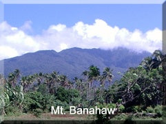 Mt. Banahaw in the Philippines