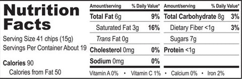 Semi-Sweet Chocolate Chips - Nutrition Facts image