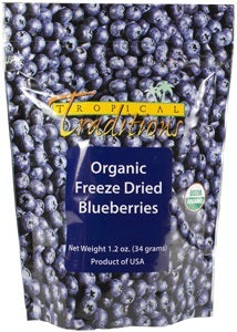 Organic Freeze Dried Blueberries photo