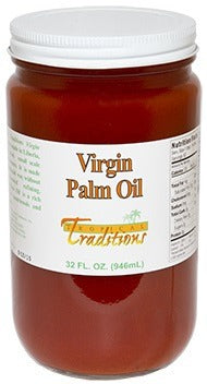 Red Virgin Palm Oil 32 oz. photo