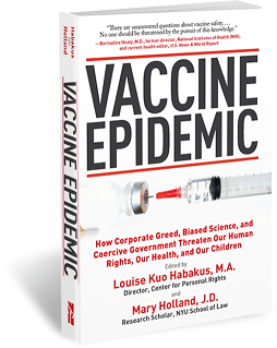 Vaccine Epidemic Book Cover