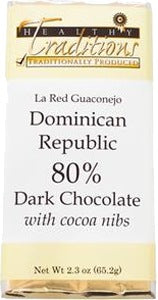 Domincan Dark Chocolate with Nibs