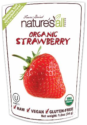 Organic Raw Freeze Dried Strawberry