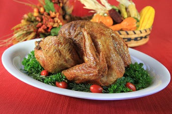 Organic Pastured Free-Range Herb Roasted Turkey recipe photo. All Rights reserved.