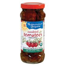 Organic Sundried Tomatoes in Olive Oil