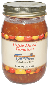 Petite Diced Heirloom Tomatoes