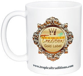 Tropical Traditions Coffee Mug back photo