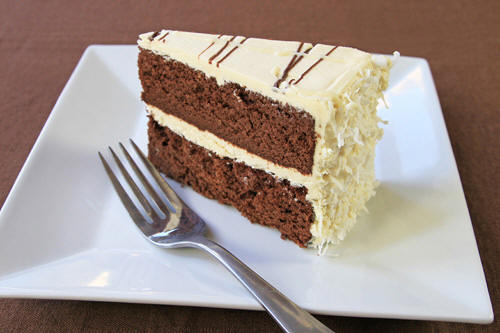 Use coconut oil to make a foolproof gluent free chocolate cake recipe photo
