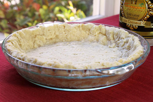 Use coconut oil to make the best pie crust recipes photo