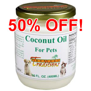 Coconut Oil for Pets - 1 pint