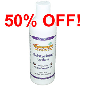 Moisturizing Lotion - 8 oz - Lavender