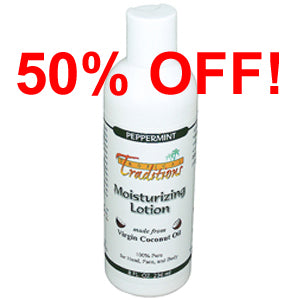 Moisturizing Lotion - 8 oz - Peppermint