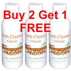 Classic Teeth Cleaner Package - All Natural