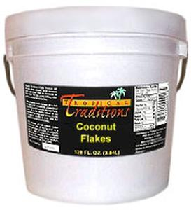 1-Gallon Pail 2 lbs - Coconut Flakes