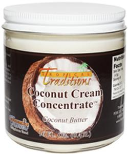 Coconut Cream Concentrate - 1-Pint (16-oz)