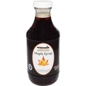 Grade A Very Dark Maple Syrup - 16 oz. - HBC