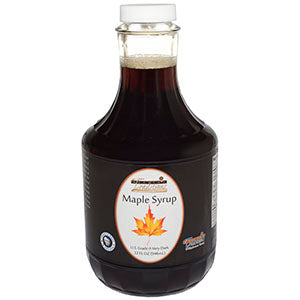 Grade A Very Dark Maple Syrup - 32 oz. - HBC