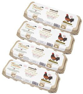 4 dozen Glyphosate-Tested Soy-free Eggs - Private Reserve