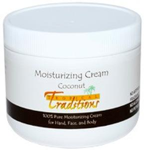 Moisturizing Cream - 4 oz. - Coconut - HBC
