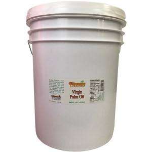 Virgin Palm Oil - 5-gallon pail - 640 FL. oz.
