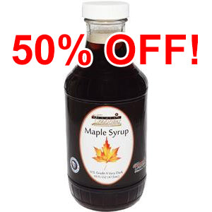 Very Dark Maple Syrup - 16 oz.