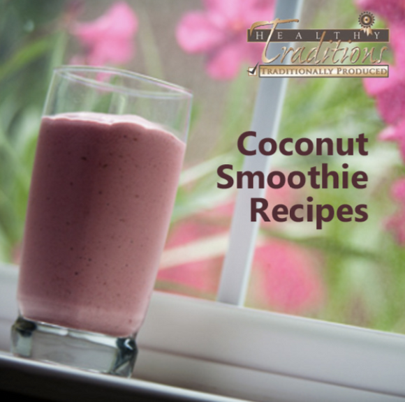 Coconut Smoothie Recipes eBook - 53 Recipes