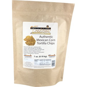Authentic Mexican Corn Tortilla Chips - 7 oz.