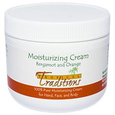 Moisturizing Cream – 4 oz. - Bergamot and Orange