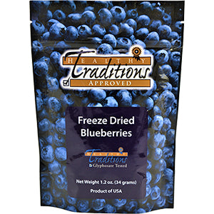 Freeze Dried Blueberries - 1.2 oz - HBC