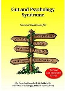 Book - Gut and Psychology Syndrome, by Dr. Natasha Campbell-McBride
