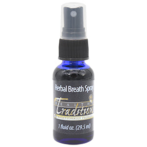 Organic Herbal Breath Spray - 1-oz
