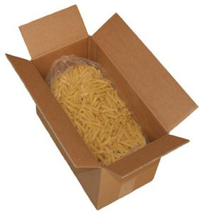 Bulk Penne Rigate Organic Whole Durum Wheat Pasta - 11 lb. package