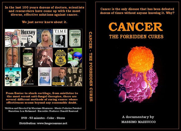 DVD - Cancer: The Forbidden Cures - HBC