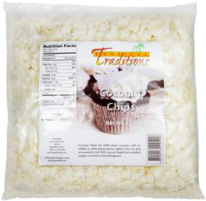 Organic Coconut Chips - 1-lb Bag