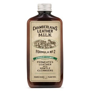 Chamberlain's Straight Cleaner No. 2 - 6 oz with pad