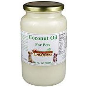 Coconut Oil for Pets - 1 quart