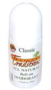 Deodorant Roll-on - Classic - 2 oz. - All Natural - 1 bottle