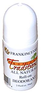 Deodorant Roll-on - Frankincense 2 oz. - All Natural - 1 bottle