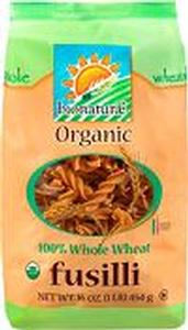 Fusilli Organic Whole Durum Wheat Pasta - 16 oz.