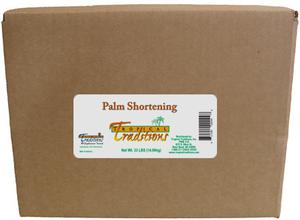 Glyphosate-Tested Palm Shortening - 33 lbs. - HBC