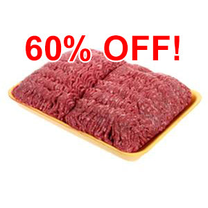 Grass-fed Ground Beef - approx. 1 lb. (6 lb. minimum)