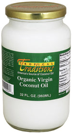 Virgin Coconut Oil, Green Label - 1 quart