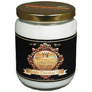 Virgin Coconut Oil Hair Treatment - Gold Label - 16 oz. - HBC