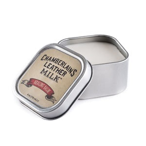 Chamberlain's Leather Healing Balm – 4 oz Tin with sponge